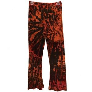 Three Cranes Hand Dyed Tie Dye Comfy Pants